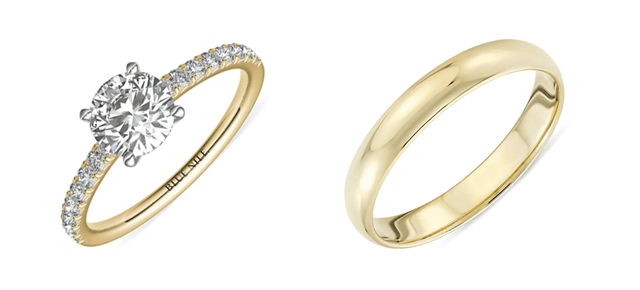 Engagement Ring Vs Wedding Ring Rules Should You Wear Both
