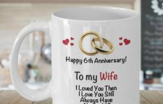 What Is The 6Th Wedding Anniversary Gift