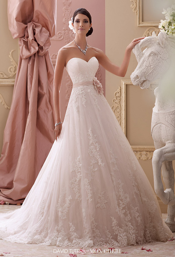 Top 100 Most Popular Wedding Dresses In 2015 Part 1 Ball Gown A Line Bridal Gown Silhouettes Wedding Inspirasi