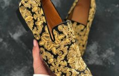 Mens Gold Shoes Wedding