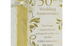 Greeting Cards For 50Th Wedding Anniversary