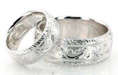 White Gold Wedding Rings His And Hers