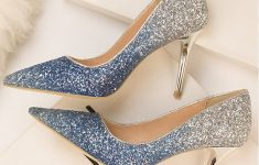 Wedding Shoes In Silver