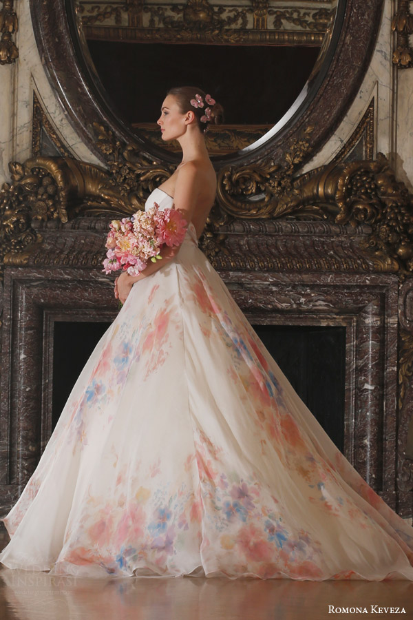 Watercolor Wedding Dress  Images