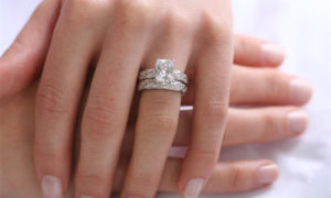 Why You Should Wear The Diamond Engagement Ring On Your Middle Finger Diamonds Inc